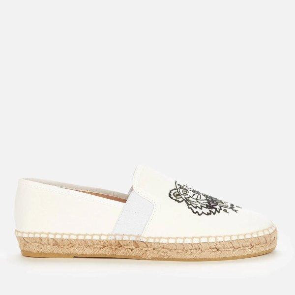 米白色虎头渔夫鞋