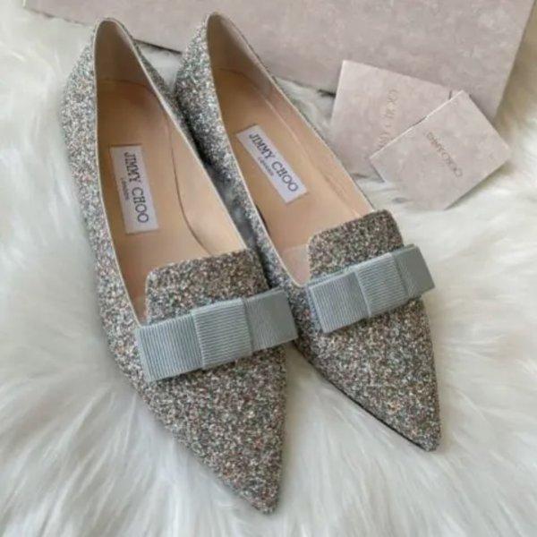 Gala 亮片平底鞋