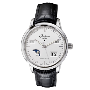 Glashutte Men's Senator Perpetual Calendar Watch 100-02-13-02-04