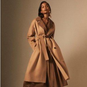 无门槛7折 羊毛衫$273即将截止:Max Mara 'S 专场热卖,经典羊毛大衣$474