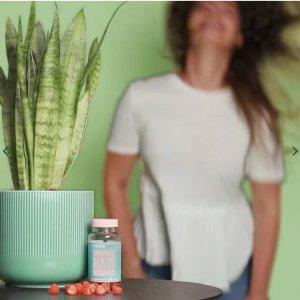 第2件半价+额外7.5折Holland Barrett 夏日美容养颜专场 生发护肤软糖、抗氧葡萄籽