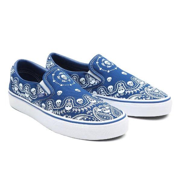 Bandana 平底鞋 蓝色