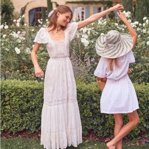 低至5折+免邮Loveshackfancy 仙女裙热卖,梦幻般的美丽