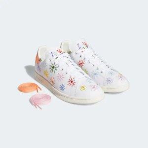 AdidasStan Smith 小花花运动鞋