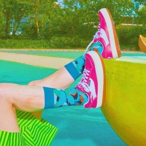8折+免邮 送爸爸一份好心情Happy Socks 父亲节系列上线 趣味潮袜热卖