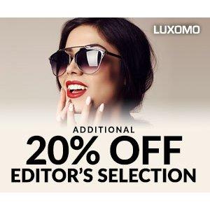 额外8折 Valentino墨镜$40就能收Luxomo 大牌墨镜热卖
