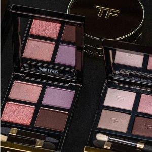 最高立减$550 变相低至7.25折独家:Tom Ford 美妆香水热卖 收新款四色眼影、气垫粉底