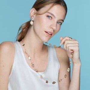 额外8折 博主同款开口手环$24起Saks Fifth Avenue首饰精选 大牌珠宝首饰超值入