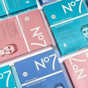 3 for 2 on Sheet MasksDealmoon Exclusive: No7 Beauty Sale