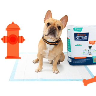 买3件享8.5折Frisco 狗狗训练尿垫、便便袋等促销 捡屎官必囤