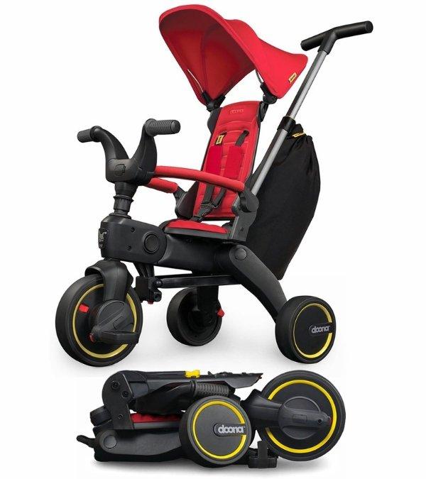 Liki S3 儿童三轮车 红色