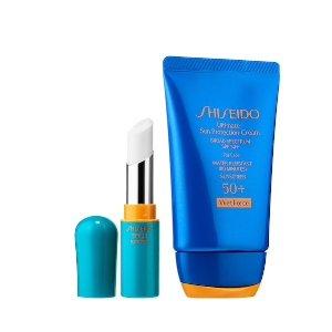 $36Shiseido Sun Protection Duo