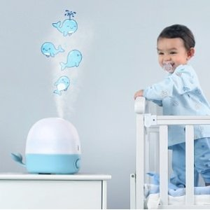 $34.99 (原价$49.99)TaoTronics 2.5升可爱鲸鱼宝宝加湿器
