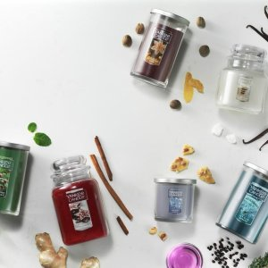 5 for $55 Large CandlesLimited Sale @ Yankee Candle