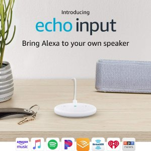 $19.99 (原价$34.99)Amazon Echo Input 普通音箱秒变智能音箱