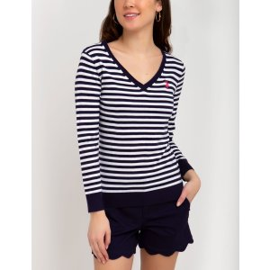 US Polo Association条纹毛衣