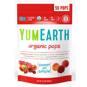$5.32YumEarth Organic Lollipops, 12.3 Ounce Bag