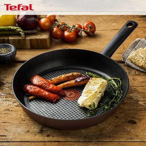 低至6.7折 炒锅两件套£21.5!补货:Tefal 法国红点锅 煎锅、空气炸锅、超多锅具套装闪促