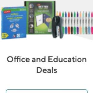 2.1折 $1起+包邮白菜价:Staples精选多款办公学习必备用品,圆珠笔、练习本等