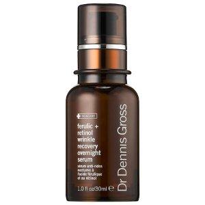 Dr. Dennis Gross Skincare 阿魏酸 + 视黄醇抗皱修护夜用精华