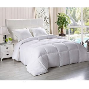 $27.99(原价$39.99)Utopia Bedding 仿羽绒四季空调被 - King 尺寸