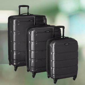 $81.92(原价$234.78)Samsonite Omni 20寸硬壳登机行李箱,黑色