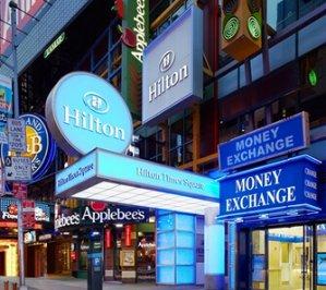 $106起时代广场希尔顿酒店入住优惠