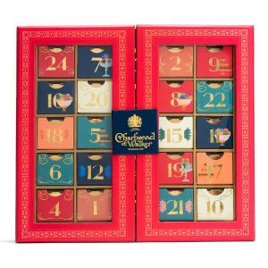 现价$95 英国皇家认证品牌Charbonnel et Walker 2020款圣诞倒数日历巧克力礼盒开售