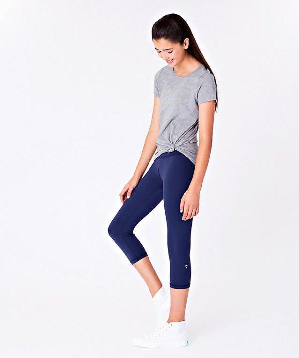 女童紧身运动裤