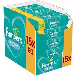 1200片 仅€0.0158/片帮宝适湿巾 1200张