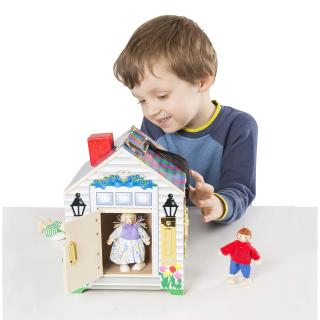 $15.99起Melissa & Doug 精选儿童益智立体小木屋玩具