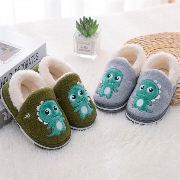 儿童保暖室内鞋