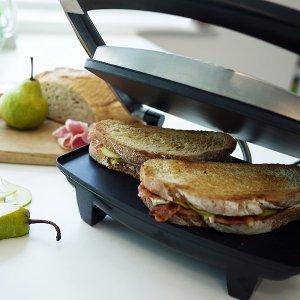 低至6.7折 £27收封面三明治机Breville 家用小电器专场 收实用热水壶、榨汁机的好时机