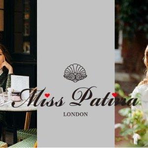 4折起+叠85折 £18收蕾丝半身裙Miss Patina £30以下惊喜大促 英伦风满满 超多仙女衣等你来
