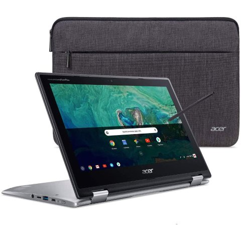 $329.99Acer Chromebook Spin 11 HD Convertible Laptop (N3350 4GB 32GB) + Wacom Pen + Sleeve