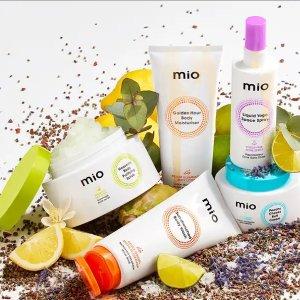 买一送一+折上7折+赠Myvitamins软糖Mio Skincare 周年庆大促 收人气沐浴露、肌肤护理系列等