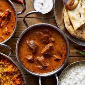 61折 多款套餐可选伯明翰印度料理Bombay Brasserie热卖 套餐£22.95起