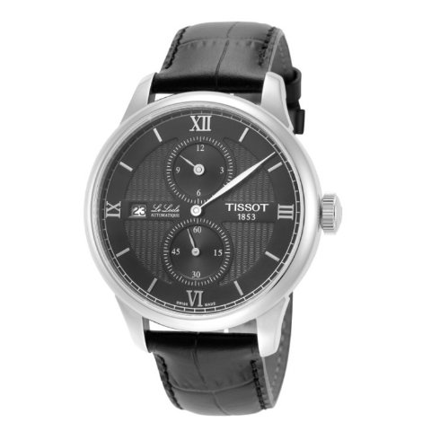 61% OffDealmoon Exclusive: TISSOT Le Locle Automatic Black Dial Watches