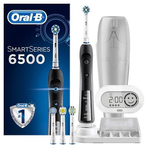 低至2.6折 £59.99收封面款 原价£229.99上新:Oral-B 多款热门电动牙刷、水牙线、替换刷头大促