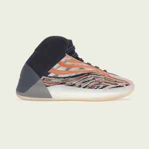 预计5月22日发售预告:Yeezy 篮球鞋QNTM最新大地色「Flash Orange」即将发售