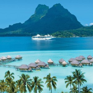 From $4145Air & 7-Day Tahiti Cruise w/ Private Beach in Bora Bora
