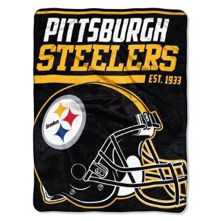 "$11.99NFL Pittsburgh Steelers ""40-Yard Dash"" 46""x 60"" Micro Raschel Throw"