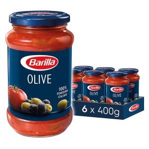 补货啦 售价€11.94Barilla 橄榄风味意面酱/调味番茄酱 400克x6罐 还有多种口味有货 别光囤意面忘了酱