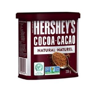 $3.97 美味选出来Hershey's 好时无糖烘焙可可粉 方便小罐装226g 美味皆可可