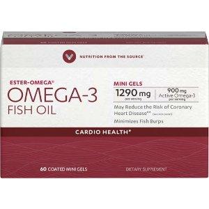 Omega-3 Fish Oil Premium Coated Mini Gels 900mg at Vitamin World