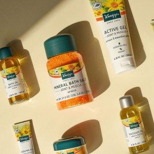 无门槛8折+免邮Kneipp Arnica护肤系列产品热卖 德国纯天然护肤