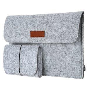 $5.99dodocool 13.3-Inch Felt Sleeve Cover Carrying Case (Dark Grey& Light Grey)