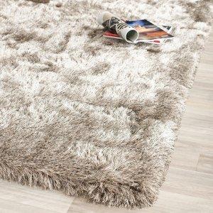 $51.59闪购:Safavieh 手工制作超柔软地毯3尺x5尺