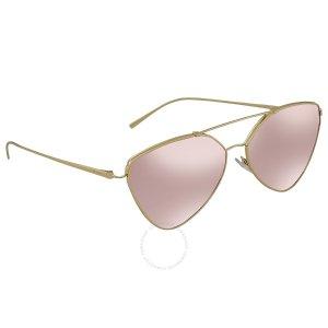 6db2fae3653 PradaLight Violet Mirror Silver Grad Cat Eye Sunglasses PR 51US ZVN095.   99.99  400.00. Prada Light Violet Mirror ...