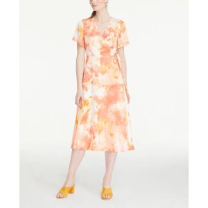 Ann Taylor15% off $100+Tie Dye Midi Wrap Dress
